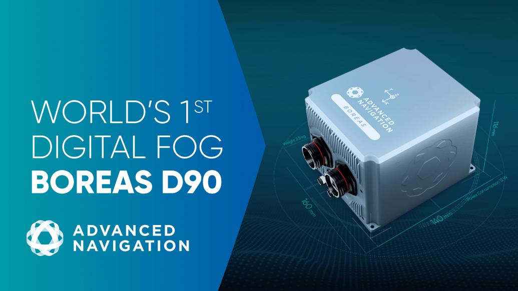 全球首款全数字FOG – BOREAS D90
